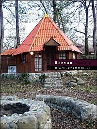 کلبه جنگلی برای اجاره